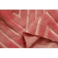 Wholesale Pink Wool Flannel Fabric , Organic Cotton Flannel Fabric 160cm Width from china suppliers