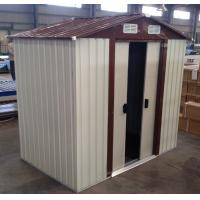 Wholesale 12 ' x 10 ' Cream Medium Garden Tool House / Metal Garden Sheds For Agricultural from china suppliers