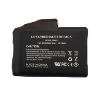 Wholesale 15Wh 2000mAh 2S 7.4V Li Polymer Battery Pack from china suppliers