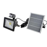 Wholesale IEC / CE Monocrystal Solar LED Flood Lights with PIR sensor from china suppliers