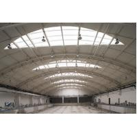 Quality Q235 Q345 Pipe Truss Large Industrial Steel Buildings Fabrication For Stations for sale