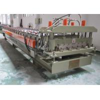 Wholesale Color Glazed Tile Making Machine , Steel Tile Roll Forming Machine With Press Mould from china suppliers