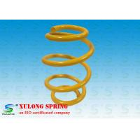 Wholesale OEM Yellow Barrel Custom Automotive Coil Springs , Car Suspension Springs from china suppliers