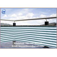 Wholesale Fencing Net Outdoor colorful HDPE virgin anti UV Sunshade sail for balcony from china suppliers