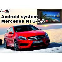 Wholesale Video Interface Car Navigation Box , Android Gps Navigation Mercedes Benz A Class NTG 4.5 Mirrorlink from china suppliers