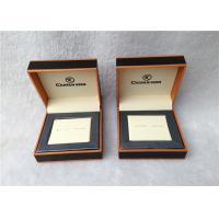 Wholesale Cardboard Cufflink Gift Boxes , Cufflink Display Case Personalised from china suppliers