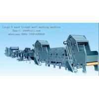 Buy cheap wool washing machine, Large 5 wash trough wool washing machine,Assembly line wool washing machine from wholesalers