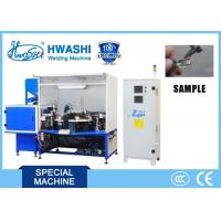 Buy cheap Carbon Brush Automatic AC Spot Welding Machine Copper Wire Projection Welder from wholesalers