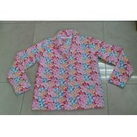 Buy cheap Flower Color Brushed Fleece Ladies Rob / Pajama Sets With Front Pocket from wholesalers