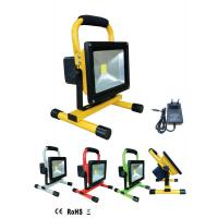 Wholesale 10w waterproof portable solar powered led flood lights with solar panel from china suppliers