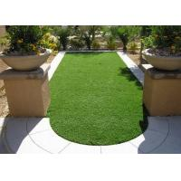 Quality Garden Recycled Natural Artificial Grass Diamond Shape 14700 Density for sale