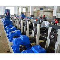 Quality Customized Cold Beam Rack Steel Roll Forming Machine With Fly Saw Cutting for sale
