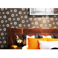 Wholesale Black Copper Pattern PVC Modern Removable Wallpaper Living Room Striped Wallpaper from china suppliers
