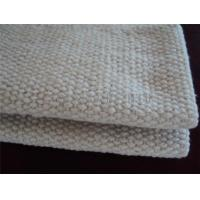 Wholesale 2 - 10mm Thickness Ceramic Fiber Insulation Blanket For Wood Stoves / Steel Wire Reinforced from china suppliers