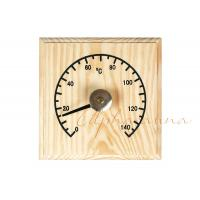 Wholesale Solid Wooden Thermometer Hygrometer Temperature for Dry Sauna Room Accessories from china suppliers