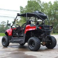 Quality 200CC Air Cooled Gas Utility Vehicles With Single Cylinder Horizontal Type for sale