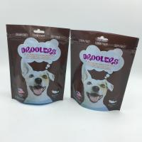 Wholesale zip lock food packaging compound plastic bags , dog packaging bag from china suppliers
