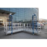 Buy cheap Steel Painted / Hot Galvanized / Aluminum  ZLP630 / ZLP800 / ZLP1000  L Shaped  Suspended Platform For Wall Painting from wholesalers