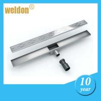 Wholesale Stainless steel channel shower drains from china suppliers