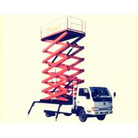 Wholesale Movable Electric Vehicle Mounted Scissor Lift Extension Platform for Work Shop from china suppliers