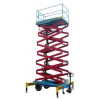 Wholesale Electric / Hyraulic 7.5M Self Propelled Scissor Lift 1.8 * 1m Platform For Workshops from china suppliers