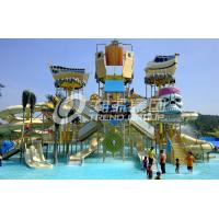 Wholesale Customized Childrens Water Park Fiberglass Water Slides Entertains for Water Park from china suppliers