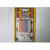 Wholesale Paraffin Magic Relighting Birthday Candles Multi Colored For Party Decoration from china suppliers