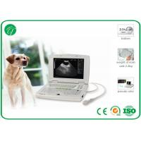 "Wholesale 10.4"" LED B mode Vet Ultrasound Machine , Portable Droppler ultrasound veterinary equipment from china suppliers"