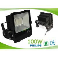 Aluminum Black Outdoor Led Flood Light 50 - 60hz 120° View Angle