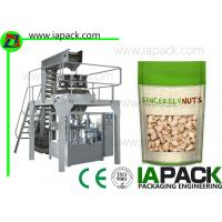 Wholesale Laminated Film Premade Pouch Filling Sealing Machine With Zipper from china suppliers