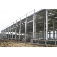 Wholesale Pre-engineering Industrial Steel Warehouse With Metail Wall And Roof Fabrication from china suppliers
