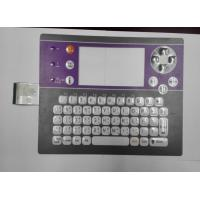 Wholesale Tablet / Computer Membrane Switch Keyboard , PC / PET Membrane Keypad from china suppliers