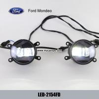 Wholesale Fix Ford Mondeo car front fog light LED DRL daytime driving lights kits for sale from china suppliers