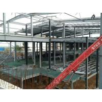 Quality Multi - Floor Building Steel Frame Fabrication With Aluminum Alloy Window\ for sale