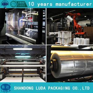 Wholesale Pallet machine stretch Wrap Film,Stretch Wrap Film for machine filme stretch from china suppliers