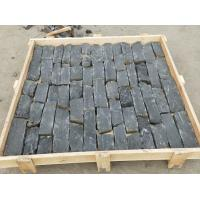 Wholesale Black Quartzite Field Stone, Random Quartzite Stone Veneer, Natural Loose Ledger Stone Corner Stone from china suppliers