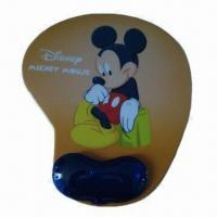 Wholesale Cartoon Mouse Wrist Pad, Nontoxic and Odorless, Customized Colors/Designs Welcomed from china suppliers