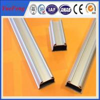 Wholesale Anodized matt aluminium profile accessories for led,aluminium extrusion for led tube from china suppliers