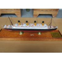 Wholesale High Simulation Cruise Ship Toy Models R.M.S. Olympic  Cruise Ship Shaped from china suppliers
