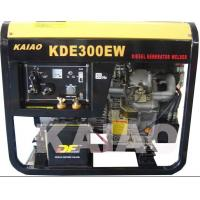 Wholesale Single Phase 3kva Diesel Welder Generator , Portable Welding Generator Set from china suppliers