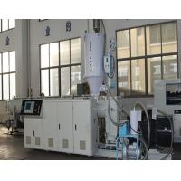 Wholesale High Speed Plastic PVC / PPR Pipe Extrusion Line Single Screw Extruder from china suppliers