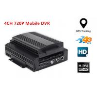 Wholesale 4CH AHD 720P Hard Disk 3G Mobile DVR WIFI Car Dvr Recorder With G-sensor GPS from china suppliers