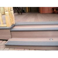 Quality composite decking with led light inside /garden grey decking with light for sale