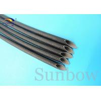 Quality Silicone Rubber Coated High Temperature Silicone Fiberglass Sleeving Sleeve for sale