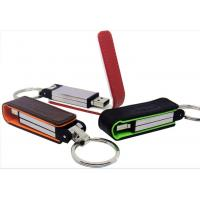 Wholesale Personalized Write Protect 256M, 4G Leather Usb Stick Storage Flash Drive with Keychain from china suppliers