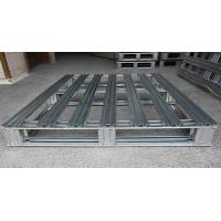 Wholesale Heavy Duty Metal steel spill pallets , stackable steel pallets 2 Way  Entry from china suppliers