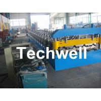 Buy cheap Hi-rib Steel IBR Roof Panel Roll Forming Machine / Roll Former from wholesalers