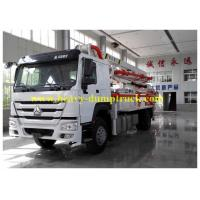 Wholesale Professional Concrete Pump Truck 27m boom German ZF steering from china suppliers