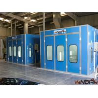 Quality 2x3KW Side Draft Paint Booth WD-200 Double-Intake Centrifugal Fans for sale