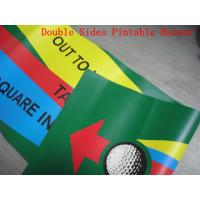 Wholesale Custom Made Reinforced Pvc Vinyl Banners Double Sided 1440 Dpi Printing from china suppliers